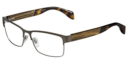 Alexander McQueen AMQ4208 Eyeglasses Matte Black (0T8T) 4208 T8T ()