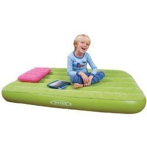 INTEX Colchón Hinchable niños Verde - 68066801: Amazon.es: Hogar