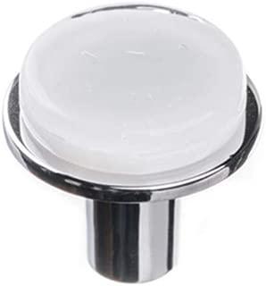 product image for Sietto R-1300-PC Sietto R-1300 Geometric 1-1/4 Inch Mushroom Cabinet Knob