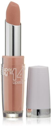 Maybelline New York Superstay 14 Hour Lipstick, Beige For Good, 0.12 (0.12 Ounce Lipstick)