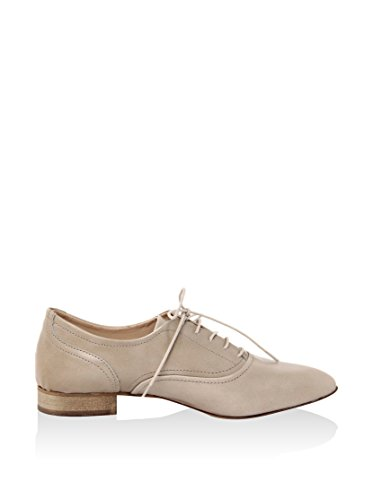 Eye Eye Nude Femme Abrasivato 1097100 Femme à Lacets chassure Cuir d5BfWcBn