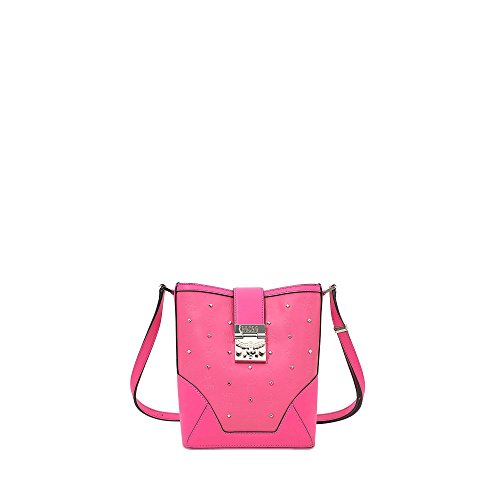 MCM Claudia Studs Odeon Shoulder small pink