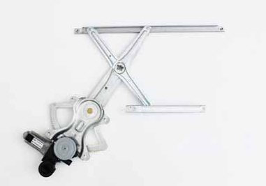 TYC 660129 Toyota Highlander Front Passenger Side Replacement Power Window Regulator Assembly with Motor
