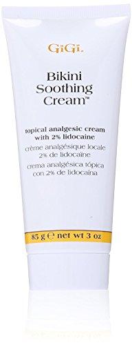 Gigi Bikini Soothing Cream 3oz Topical Analgesic (3 Pack)