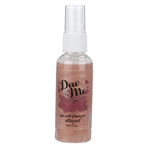 PHOERA Dew Me Rose Water Face Toner-Vovomay Rose Moisturizing Pearlescent Spray 1 Bottle Rose Water, Priming And Setting Mist (c)