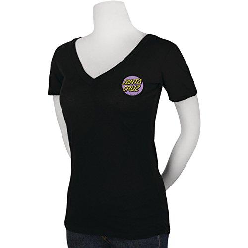 Santa-Cruz-Womens-Other-Dot-V-Neck-T-Shirt