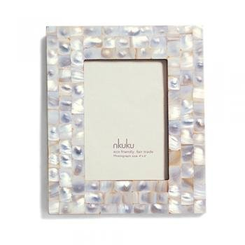 Mother Of Pearl Picture Frame Fair Trade Eco Friendly Amazonco