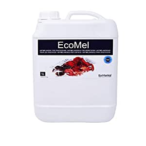 EcoMel Antimelanósico 5 L. Tratamiento para todo tipo de Crustáceos (Langostinos, Bogavantes, Cangrejos, etc.). Aditivo Líquido BioMarine. Libre de Sulfitos. Producto CE.