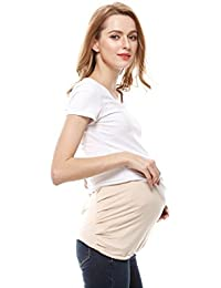 Protective Pregnancy Belly Band, Anti-radiation, Radiation Shield Maternity Black/Cream