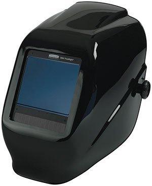 Black Jackson Safety Helmet - TrueSight II Digital Auto-Darkening Filter with Balder Technology - R3-29371