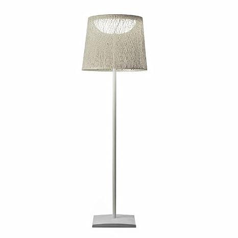 Wind Outdoor - Lámpara de pie, metal, plástico, weiß/Gestell ...