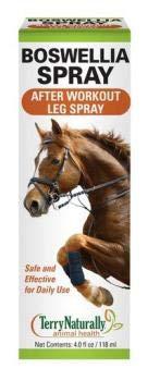 Terry Naturally Animal Health Boswellia Spray for Horses - 4.0 fl oz