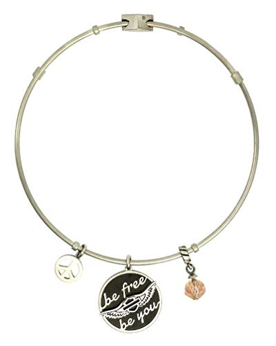 - Harley-Davidson Women's Be Free, Be You Bangle Bracelet, 7.5 in. HSB0022-7.5