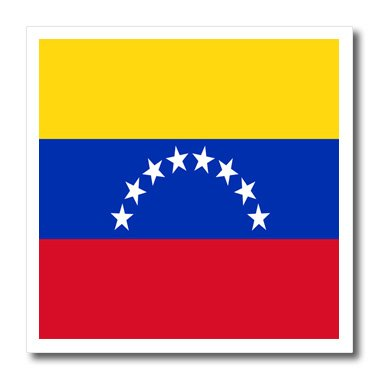 Flag Transfer (3drose Venezuela Flag 6 by 6-Inch Iron on Heat Transfer Paper)