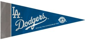 La Dodgers Mini - Rico Industries MLB Los Angeles Dodgers Pennant Mini 8 Piece, One Size, Team Colors