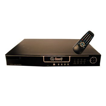 160 4 Channel Dvr - Q-SEE QSH16DVR4 4 Channel DVR w/ 160 GB HDD