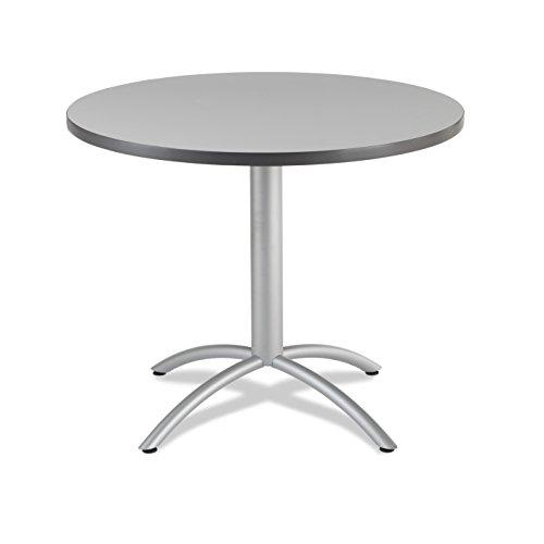 Iceberg 65647 CafeWorks Cafe/Meeting Table, 42'' Round, Gray by Iceberg (Image #1)