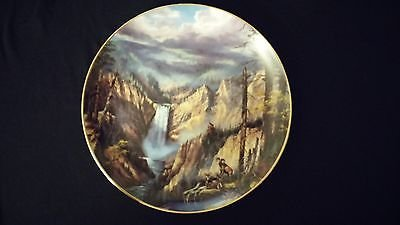1993 God Bless America Peaceful Solitude Danbury Mint Collector Edition Plate 1993 Danbury Mint