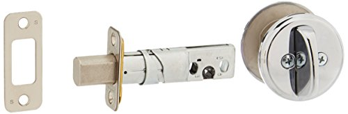 Schlage B81-625 Polished Chrome Door Bolt with Exterior Plate