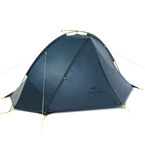 Naturehike Backpacking Tent for 1 Person Camping Hiking Lightweight Waterproof one Person Tent with Footprint (Taga 2 Person(20D))