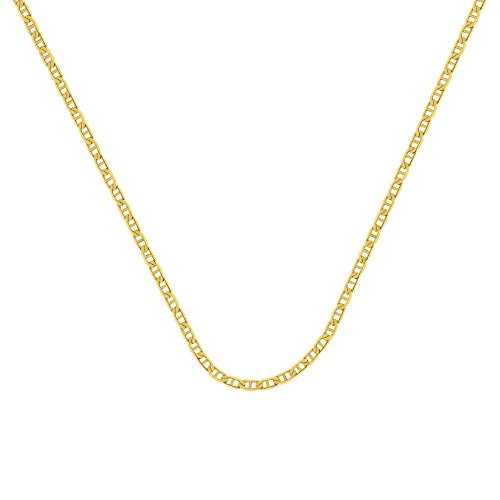 MARINER CHAIN , 14KT GOLD MARINER CHAIN / 18'' INCHES LONG by DiamondJewelryNY