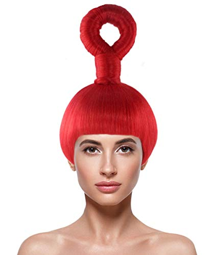 HalloweenPartyOnline Wig for Cosplay Teletubbies Po HW-2499]()