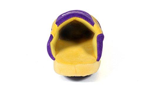 Happy Feet Och Bekväma Fötter Mens Och Kvinnor Officiellt Licensierade Nba Låga Pro Tofflor Los Angeles Lakers