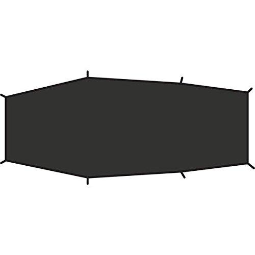 Fjällräven Lite 2 Footprint - Verstärkungsboden für Abisko Lite 2 aus Robustem, wasserdichtem Nylon. Schützt Den Zeltboden Bei steinigem Oder unebenem Untergrund vor Abrieb und Schäden.