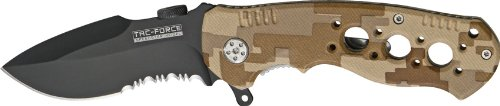Tac Force TF-536DM Assisted Opening Folding Knife 4.5-Inch Closed, Outdoor Stuffs