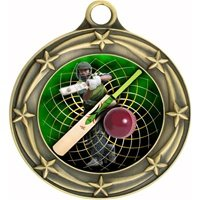 Engraved Cricket Medals (3-Pack) by Express Medals