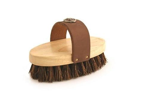 Ponyexpress Rider Western Grooming Brush - Black - 7