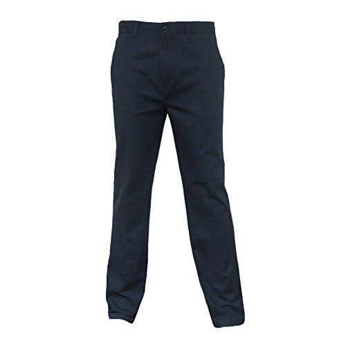 FARAH Mens Classic Navy Vintage Soft Twill Retro Mod Chino Trousers Size ()