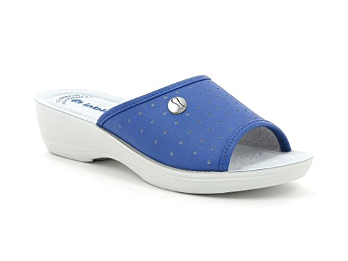 In Blu Pamela, Zapatos de Trabajo para Mujer Jeans