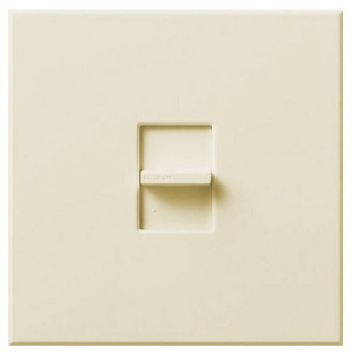 Lutron Nova N-2000-IV - Incandescent Dimmer - Slide-to-off - Single Pole - 2000 Watt - Ivory by Lutron