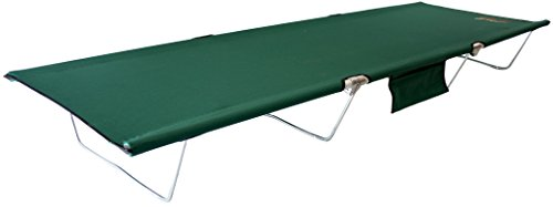 (BYER OF MAINE TriLite Cot, Camping Cots for Adults, Portable Cot, Single)