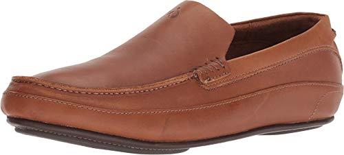 OLUKAI Men's Kulana Shoe, Fox/Dark, 14 M - Mens Sandals Fox