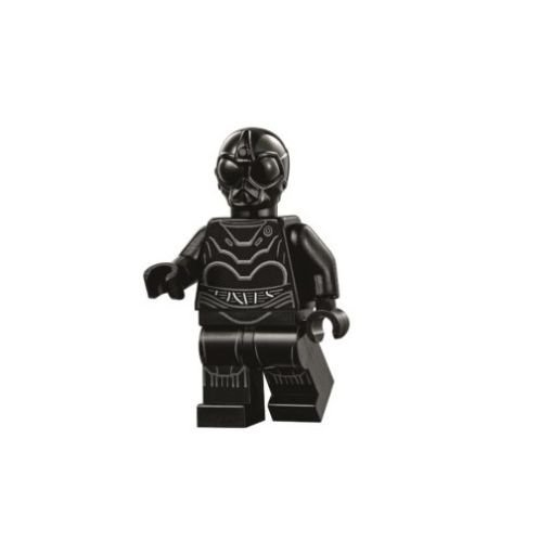 LEGO Star Wars Death Star Minifigure - Death Star Droid Black Protocol (75159)