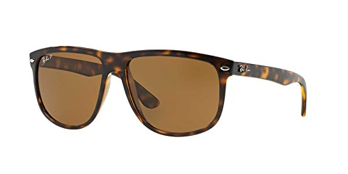 Ray-Ban Mens Sunglasses (RB4147) Tortoise/Brown Plastic,Nylon - Polarized - 60mm (Polarized Ban Ray Rb4147)