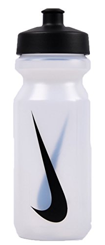 Nike Big Mouth Water Bottle 22OZ OS, Clear/Black