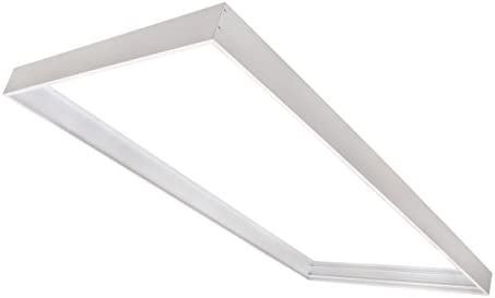 Cost Less Lighting Surface Mount Kit For 2x4 Led Flat Panel Drop Ceiling Light Edge Lit Light Fixture