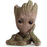 Vaso/Cachepô/Porta Caneta Resina Baby Groot - Guardiões da Galáxia