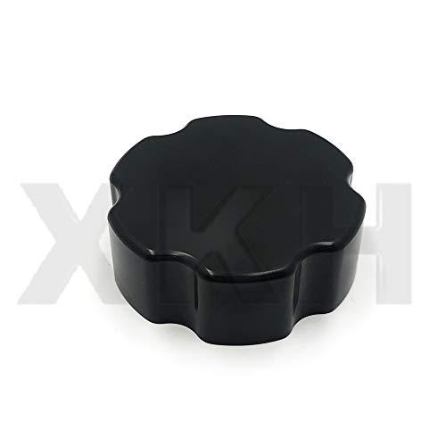 (SMT- Replacement of For 2010-2015 Camaro Bowtie Billet Master Cylinder/Brake Fluid Cap NO Logo Black)