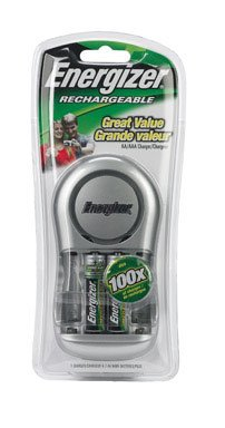 Energizer Battery Charger Charges 2 Or 4 Aa Batteries 2000 Mah