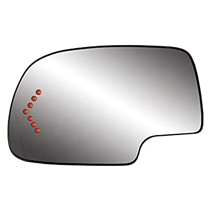 Burco 4538 Flat Driver Side Power Replacement Mirror Glass For 2014