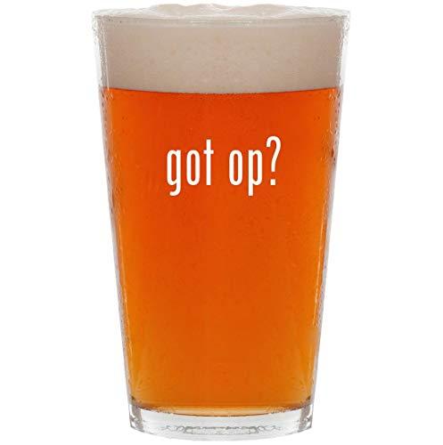 got op? - 16oz All Purpose Pint Beer Glass