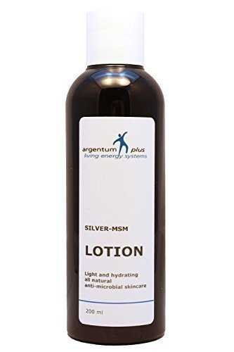 argentum plus- Colloidal Silver-MSM Lotion 200 ml