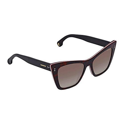 Carrera Women's 1009/s Cateye Sunglasses, DKHAVANA, 52 ()