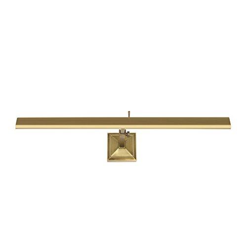WAC Lighting PL-LED24-27-BB Hemingway Hemmingway Picture Light, Large, Brushed Brass ()
