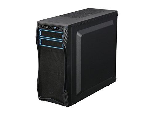 Rosewill S Case Black Steel 7 3 x 4.72 - Micro Mini ITX Motherboard Supported - 5 Fan - 2 x 5.25 x - 3 x