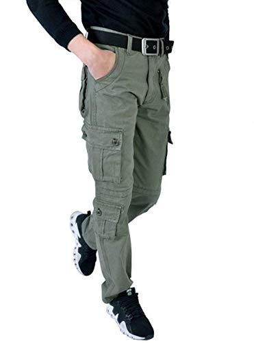 Plein Homme Printemps Travail Pantalon Couleur Air Base Pour Coton Jambe Automne En De Détente Unie xYOqCTwqt